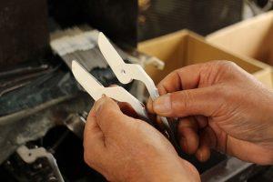 ①刃表面の加工